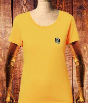 camiseta-num-wear-mujer-frankie-vs-drac-bordado-color-yellow